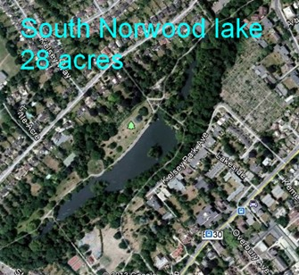 the real South Norwood Lake 28 Acre