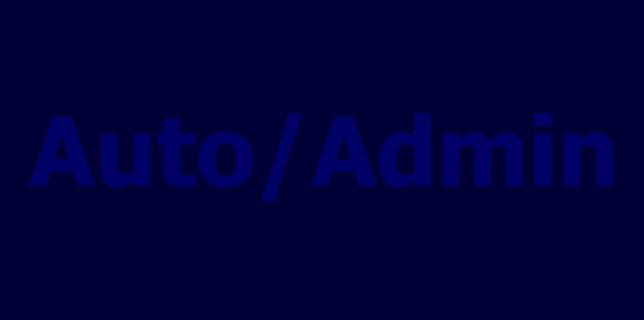 Auto-Admin